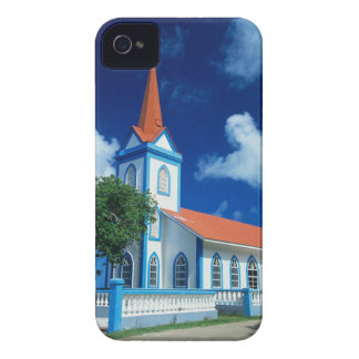 Colorful church on the island of Tahaa in the Blackberry Bold Cases