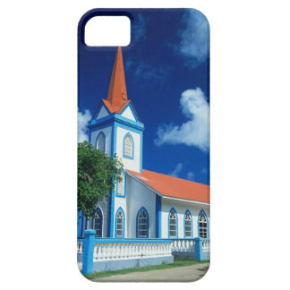 Colorful church on the island of Tahaa in the Case For The iPhone 5