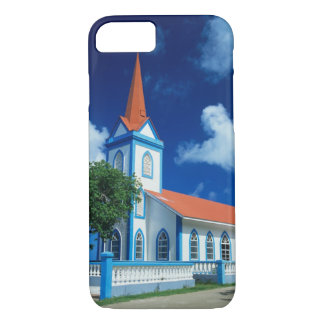 Colorful church on the island of Tahaa in the iPhone 8/7 Case