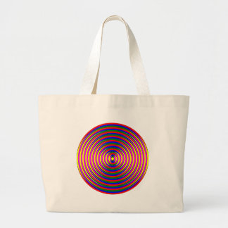 Colorful Circle Canvas Bags
