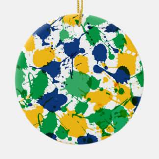 Colorful Circle Ornament