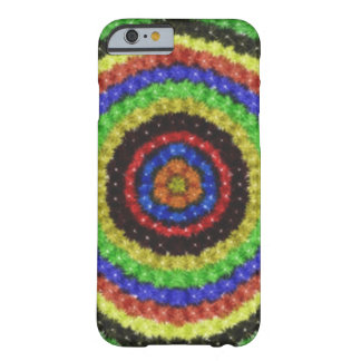 Colorful circle pattern barely there iPhone 6 case
