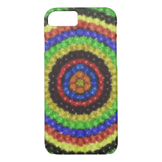 Colorful circle pattern iPhone 8/7 case