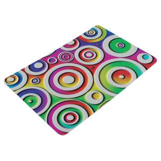 Colorful Circles Floor Mat