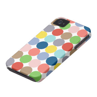 colorful circles of color in pastel iPhone 4 covers