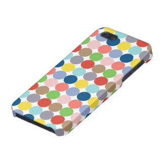 Colorful circles of color in pastel iPhone 5 case