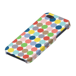Colorful circles of color in pastel iPhone 5 cases