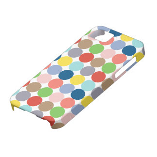 colorful circles of color in pastel iPhone 5 cover