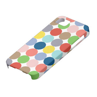 colorful circles of color in pastel iPhone 5 covers