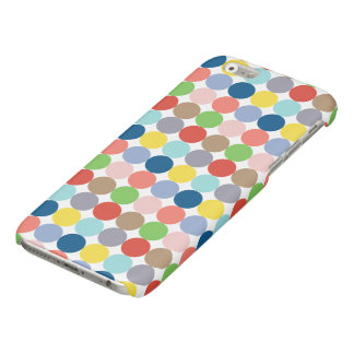 Colorful circles of color in pastel iPhone 6 plus case