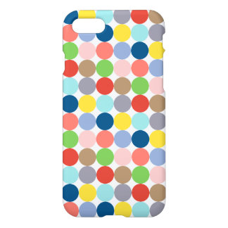 Colorful circles of color in pastel iPhone 7 case