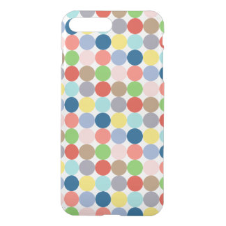 Colorful circles of color in pastel iPhone 7 plus case