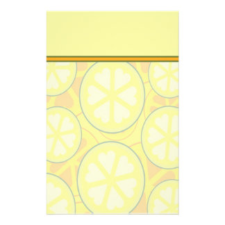 Colorful Citrus Stationery with Letterhead