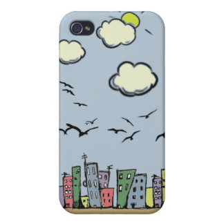 Colorful City iPhone 4/4S Covers