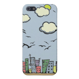 Colorful City iPhone 5 Cover