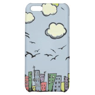 Colorful City iPhone 5C Case