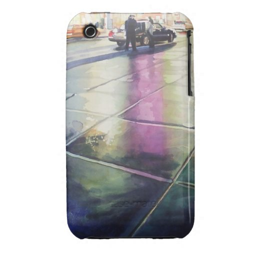 Colorful City Street Case iPhone 3 Case-Mate Cases