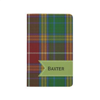 Colorful Clan Baxter Plaid Pocket Journal