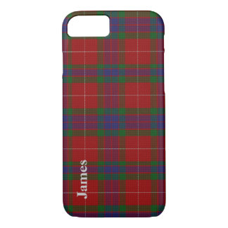 Colorful Clan Fraser Tartan Plaid iPhone 7 case