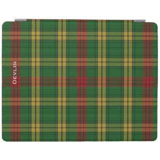 Colorful Clan MacMillan Custom Plaid iPad Cover