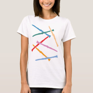 Colorful Clarinets T-Shirt