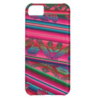 Colorful cloth iPhone 5C case