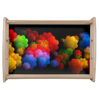 Colorful Cloud Tray