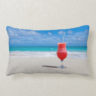 Colorful Cocktail in Paradise Lumbar Cushion
