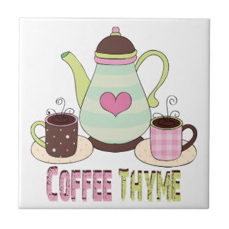 Colorful Coffee Tile