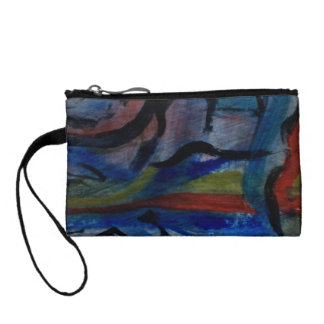 Colorful Coin and Key Purse by ValAries Change Purses