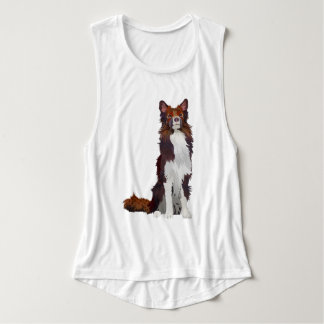 COLORFUL COLLIE TANK TOP