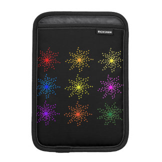 Colorful Comic Explosions iPad Mini Sleeve