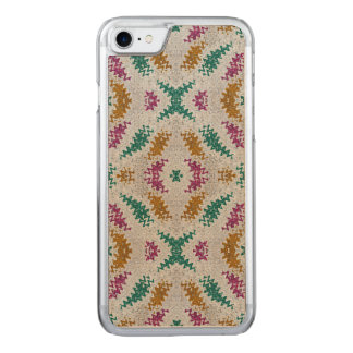 Colorful Confetti Pattern Carved iPhone 8/7 Case