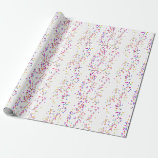 Colorful Confetti Wrapping Paper
