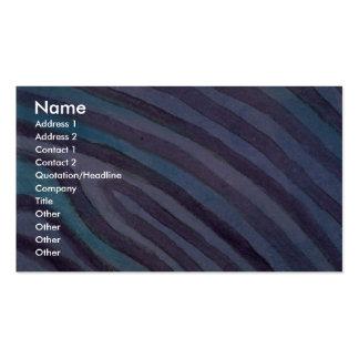 Colorful Contour Lines Business Card