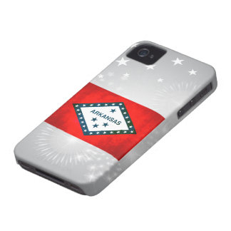 Colorful Contrast Arkansan Flag Case-Mate Blackberry Case