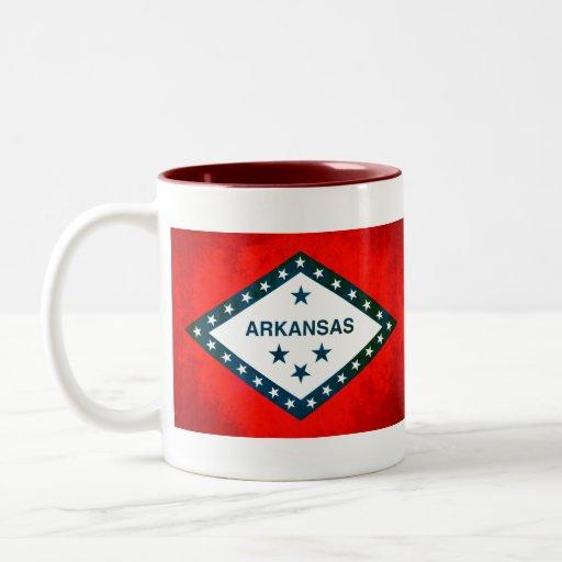 Colorful Contrast Arkansan Flag Coffee Mug