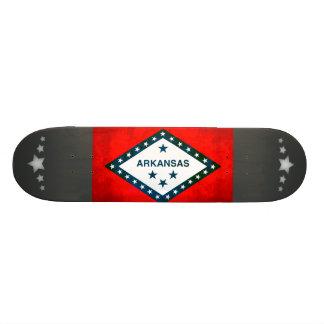 Colorful Contrast Arkansan Flag Custom Skate Board