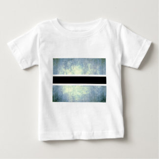 Colorful Contrast Batswana Flag T-shirts