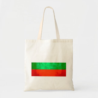 Colorful Contrast Bulgarian Flag Tote Bag