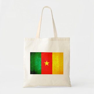 Colorful Contrast Cameroonian Flag Tote Bag