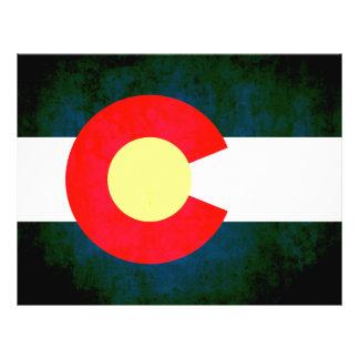 Colorful Contrast Coloradan Flag Custom Flyer