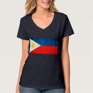 Colorful Contrast FilipinoFlag Tshirts