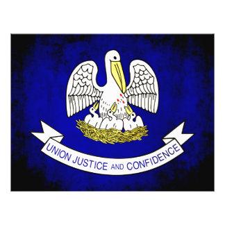 Colorful Contrast Louisianan Flag Flyer
