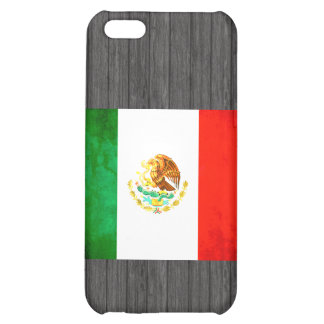 Colorful Contrast Mexican Flag Cover For iPhone 5C