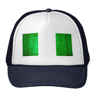 Colorful Contrast Nigerian Flag Mesh Hats