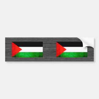 Colorful Contrast PalestinianFlag Car Bumper Sticker