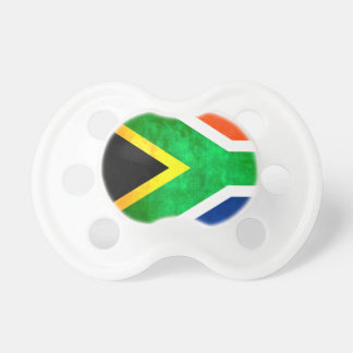 Colorful Contrast South AfricanFlag Baby Pacifier