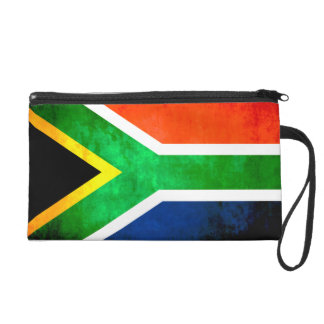 Colorful Contrast South AfricanFlag Wristlets