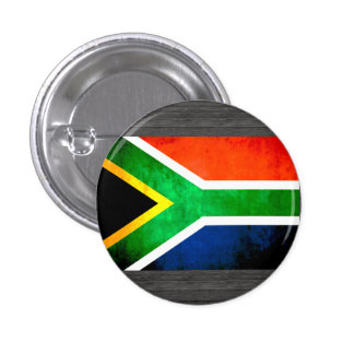 Colorful Contrast South AfricanFlag Button